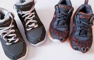 Bundle of (2) Pairs Boys Champion Sneakers Sz.11.5